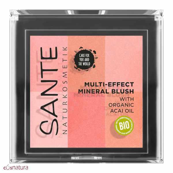 Colorete Multi Effect 6 Tonos 01 Coral Sante