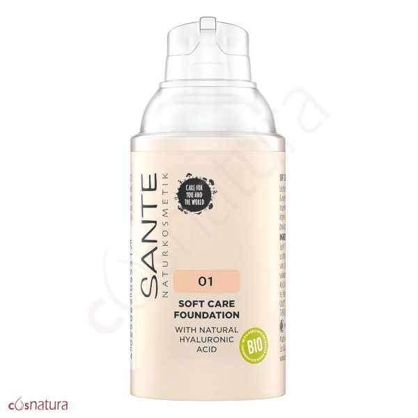 Maquillaje Soft Cream 01 Warm Linen Sante