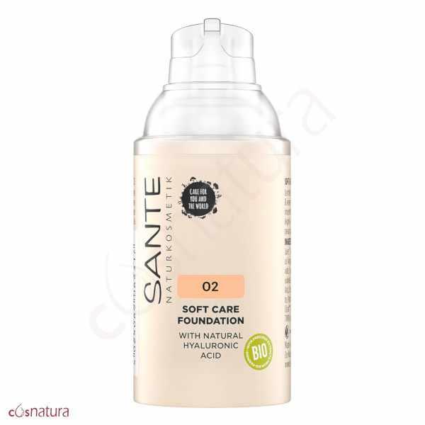 Maquillaje Soft Cream 02 Neutral Beige Sante