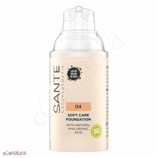 Maquillaje Soft Cream 04 Warm Honey Sante
