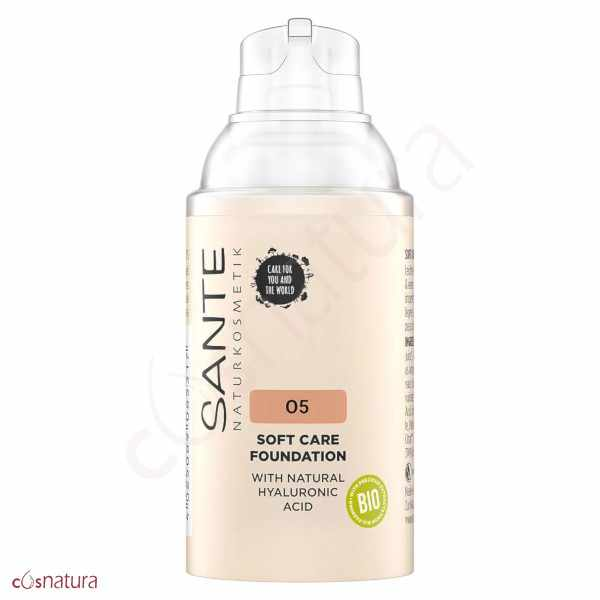 Maquillaje Soft Cream 05 Cool Beige Sante