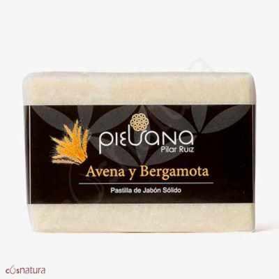 Jabón Avena y Bergamota Piel Sana