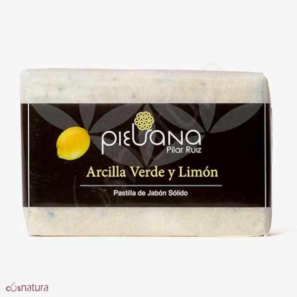 Jabón Arcilla Verde y Limón Piel Sana