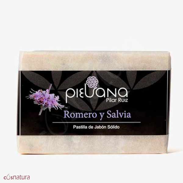 Jabón Romero y Salvia Piel Sana