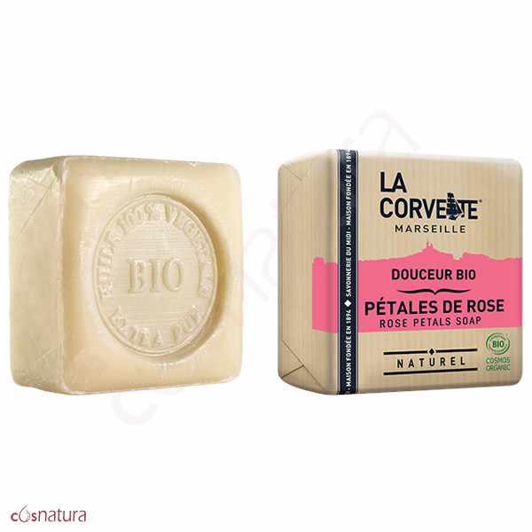Jabón Pétalos de Rosa La Corvette