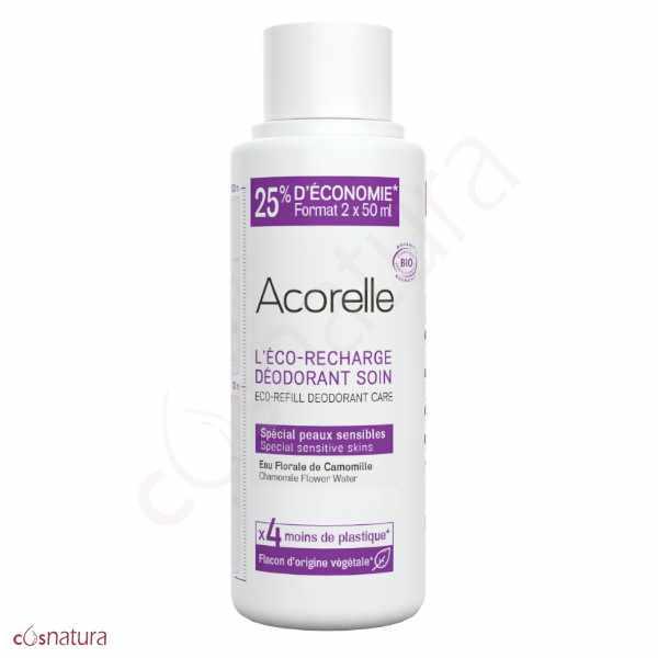 Eco-Recarga Desodorante Pieles Sensibles Acorelle