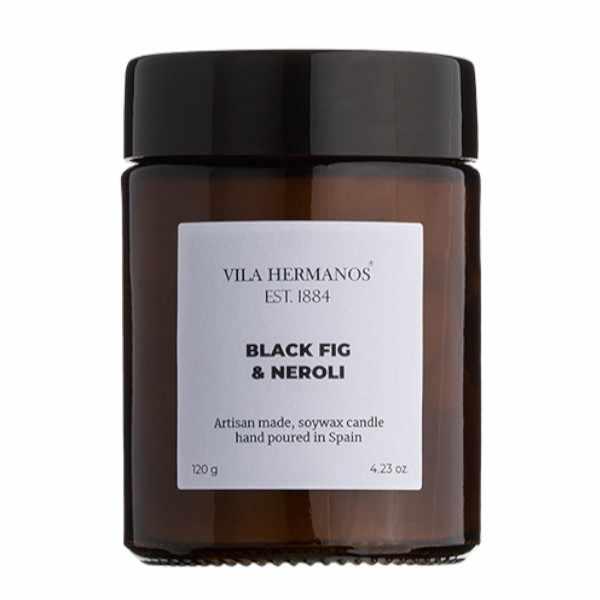 Vela Vegetal Black Fig & Neroli Vila Hermanos