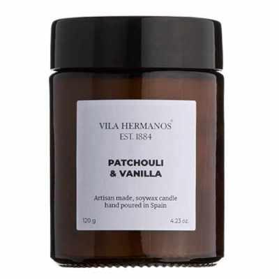 Vela Vegetal Patchouli & Vainilla Vila Hermanos