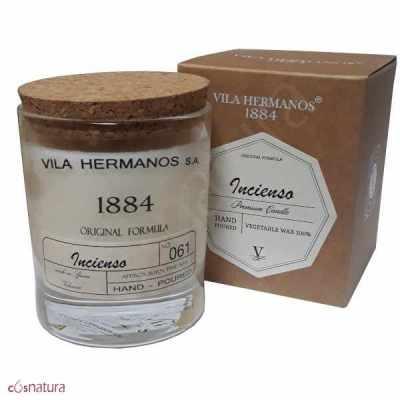 Vela Vegetal 1884 Incienso Vila Hermanos