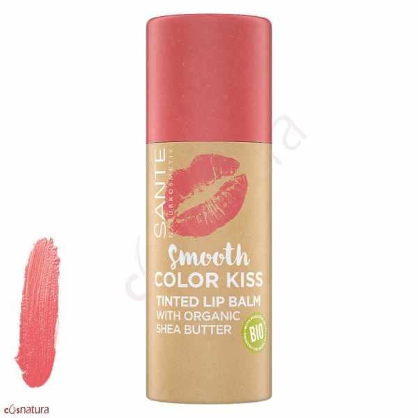 Bálsamo Labial Color Kiss 01 Soft Coral Sante
