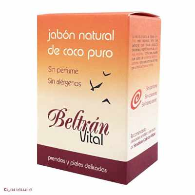 Jabón de Coco Puro Beltran Vital 240 g