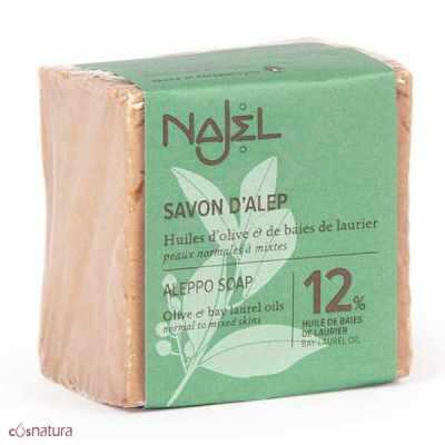 Jabón de Alepo 12% Najel
