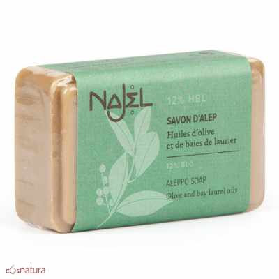Jabón de Alepo 12% Najel 100gr