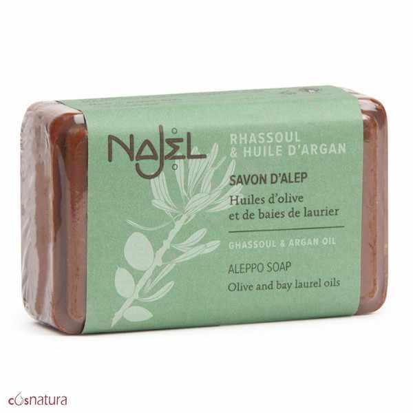 Jabón de Alepo Rhassoul y Argán Najel