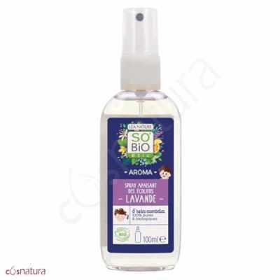 Spray Capilar Escolar Anti-piojos Lavanda So'Bio Étic
