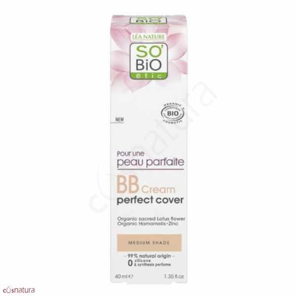 BB Cream Perfectrice Color Medium SO'Bio Étic
