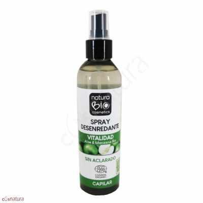 Spray Desenredante Vitalidad Aloe & Manzana NaturaBio