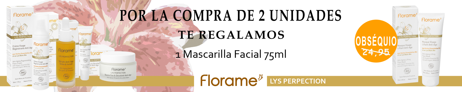 Promoción Lys Perfection Florame